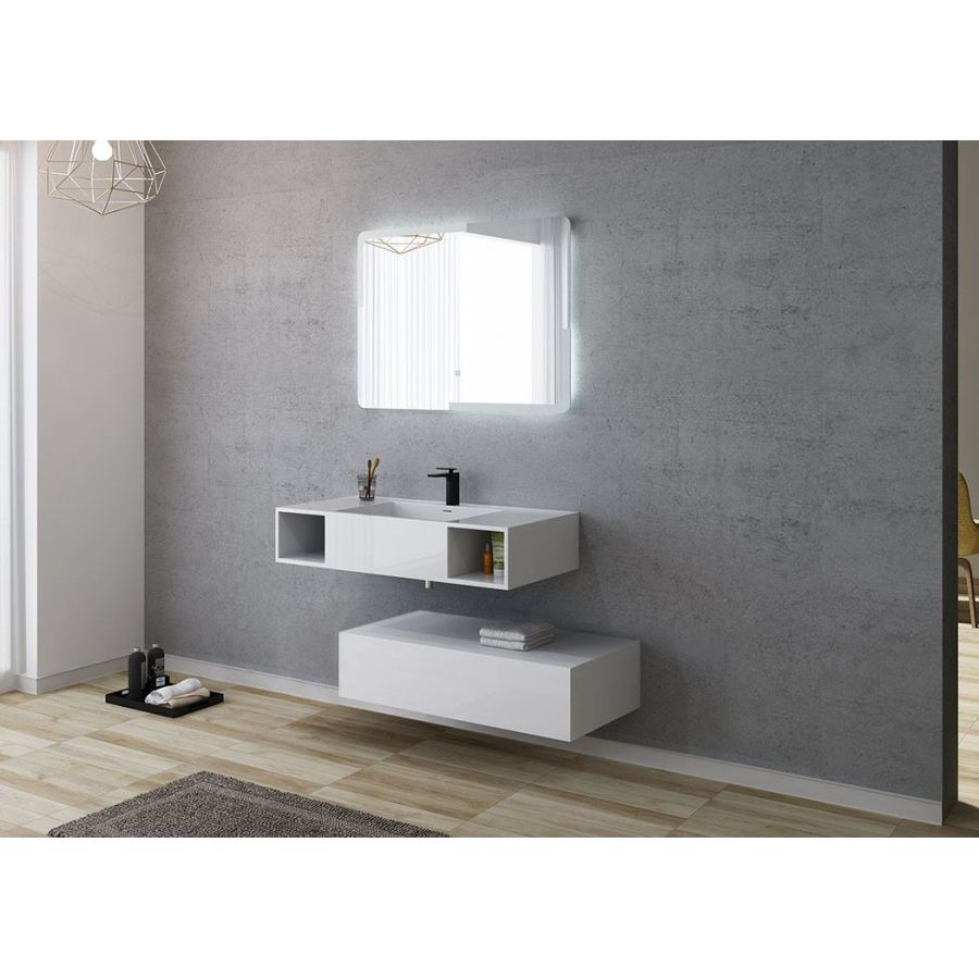 cabine de douche hydromassante rectangulaire cabine de. Black Bedroom Furniture Sets. Home Design Ideas