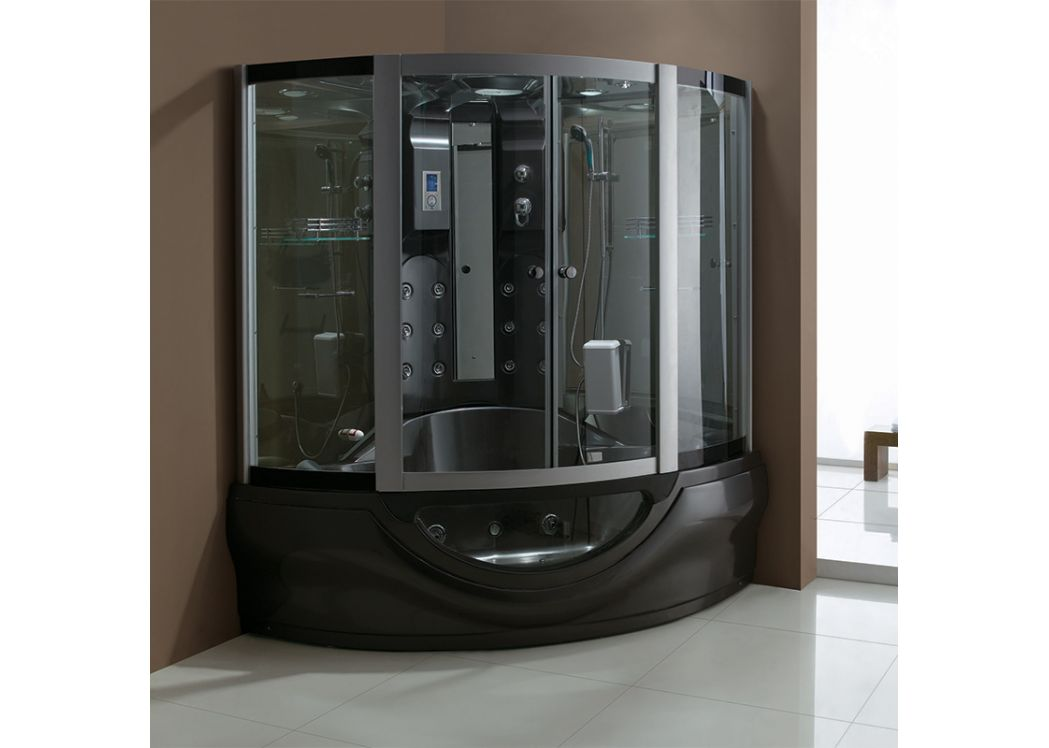 cabine de douche 2 places 30 jets combi bain et douche. Black Bedroom Furniture Sets. Home Design Ideas