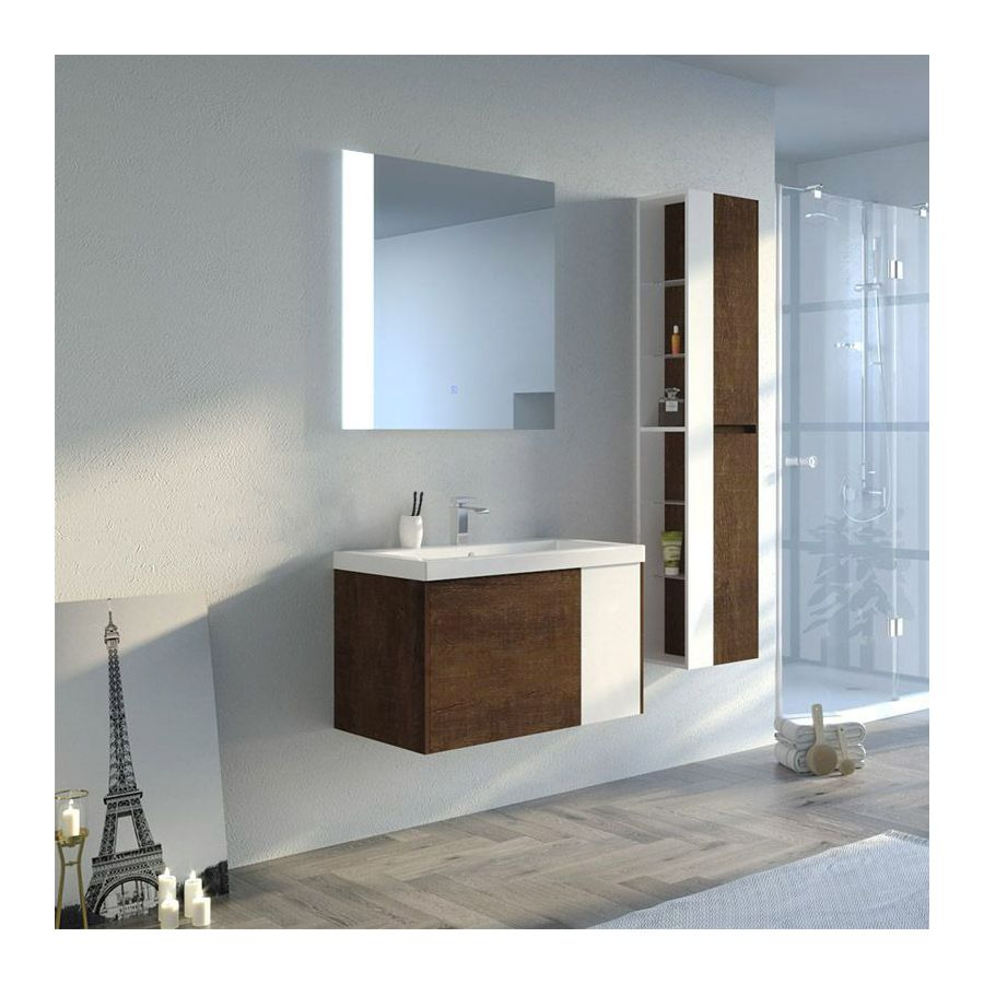 colonne de douche hydromassante 66 micro jets m tal g. Black Bedroom Furniture Sets. Home Design Ideas