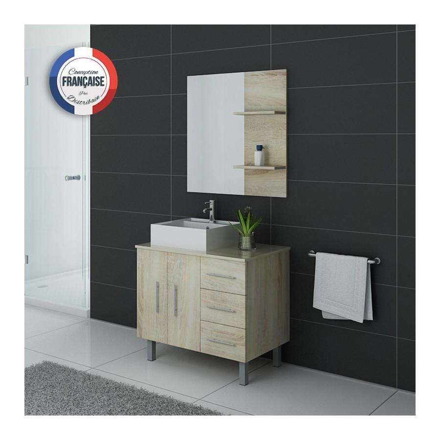 florence sc meuble salle de bain scandinave. Black Bedroom Furniture Sets. Home Design Ideas